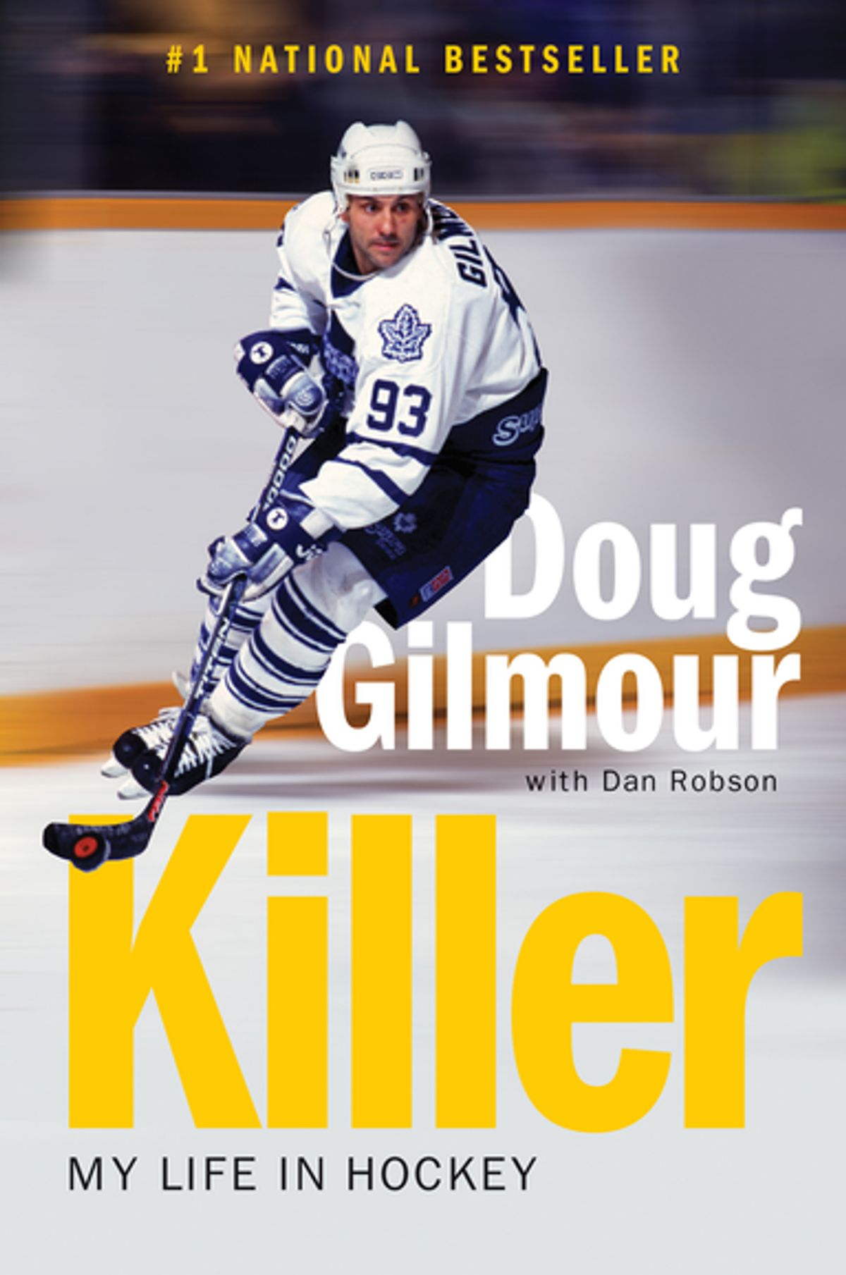 Cover for Killer: My Life in Hockey