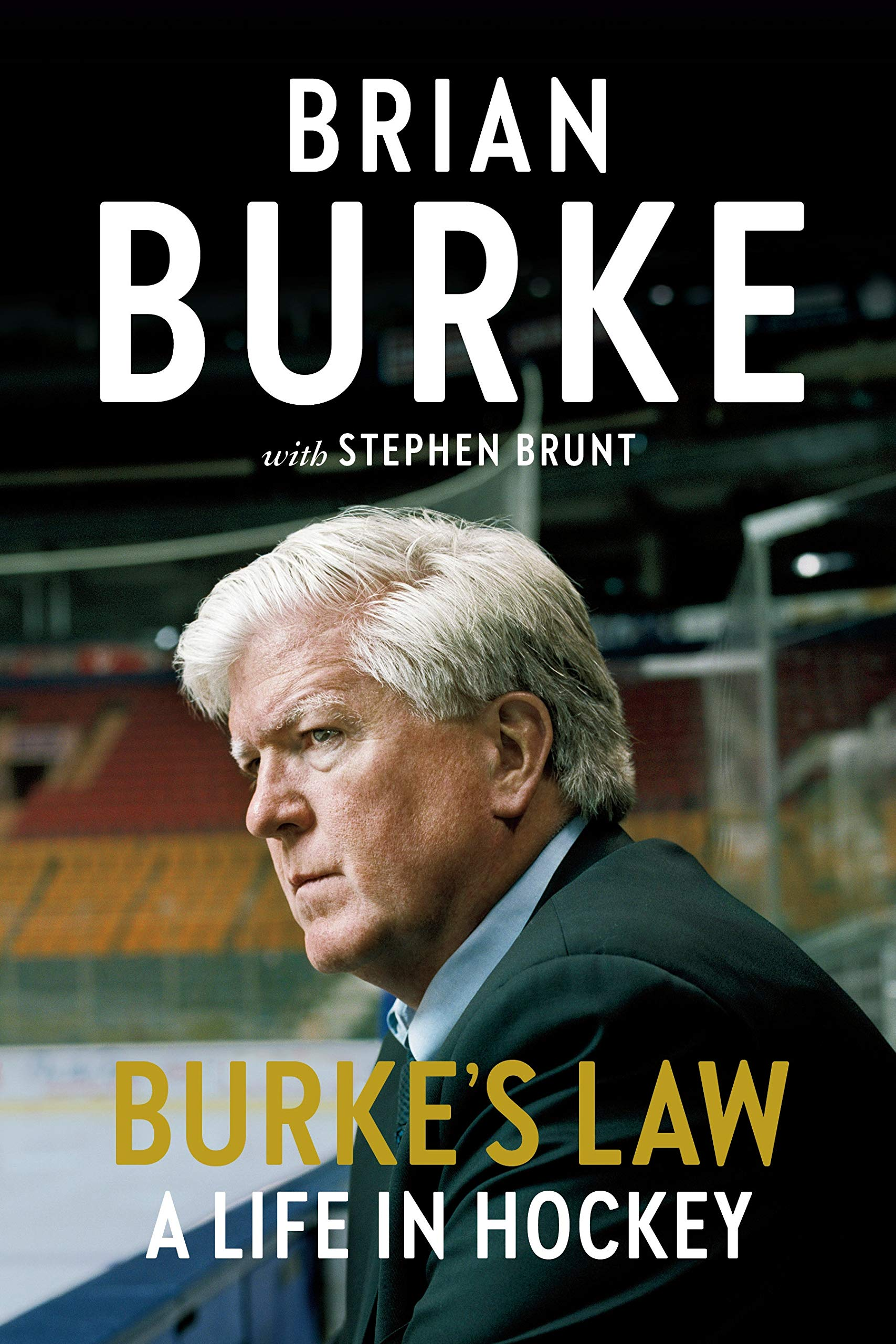 Cover for Burke's Law – A Life in Hockey